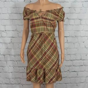 Converse plaid dress